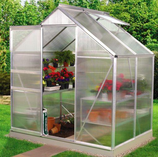 A-seeria kasvuhoone 1,95 m x 1,33 m = 2,59 m²