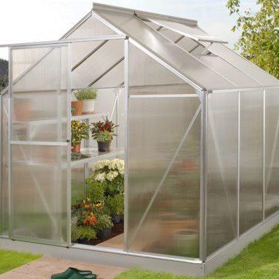 A-seeria kasvuhoone 1,95 m x 1,95 m = 3,8 m²