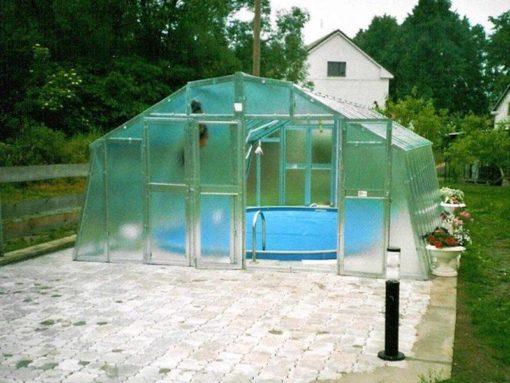 Kasvuhoone Limes Variant M-4,5 - 4,26m x 4,52m=19,26 m²