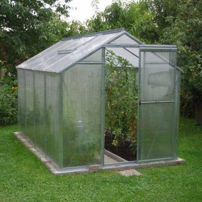 Kasvuhoone Limes Hobby H 4-4 - 1,97m x 3,03m=5,97 m²