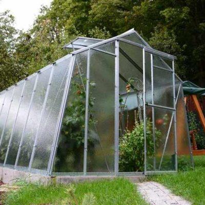 Kasvuhoone Limes Hobby H 7/3 - 2,47m x 3,00m=7,41 m²