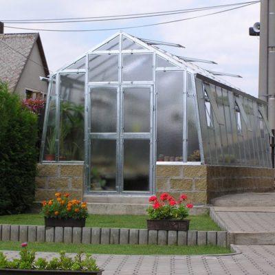 Kasvuhoone Limes Variant K-6 - 2,76m x 6,04m=16,67 m²