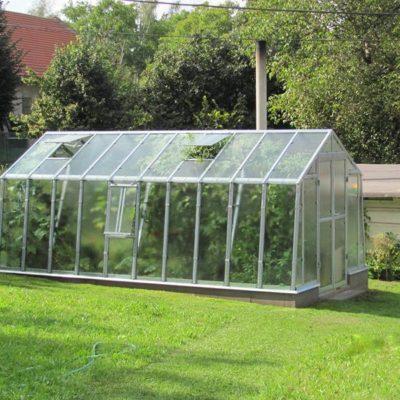Kasvuhoone Limes Primus K-4,5 - 2,76m x 4,55m=12,56 m²