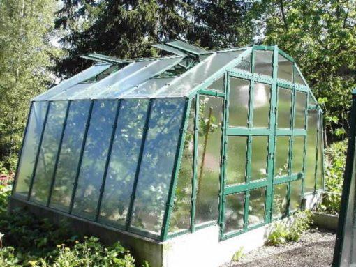 Kasvuhoone Limes Variant M-3 - 4,26m x 3,03m=12,91 m²