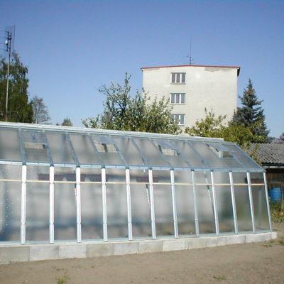 Kasvuhoone Limes Variant C-6 - 1,52m x 6,01m=9,14 m²