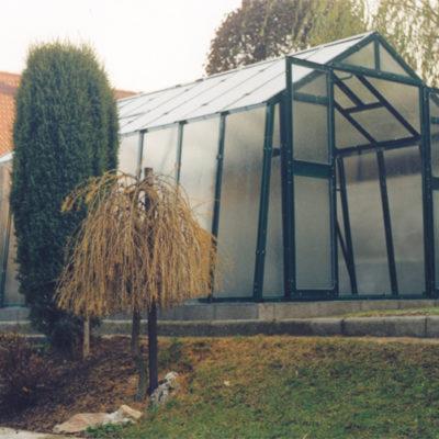 Kasvuhoone Limes Primus K-3 - 2,76m x 3,06m=8,45 m²