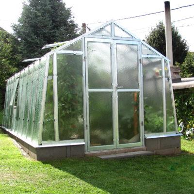 Kasvuhoone Limes Primus K-6 - 2,76m x 6,03m=16,67 m²