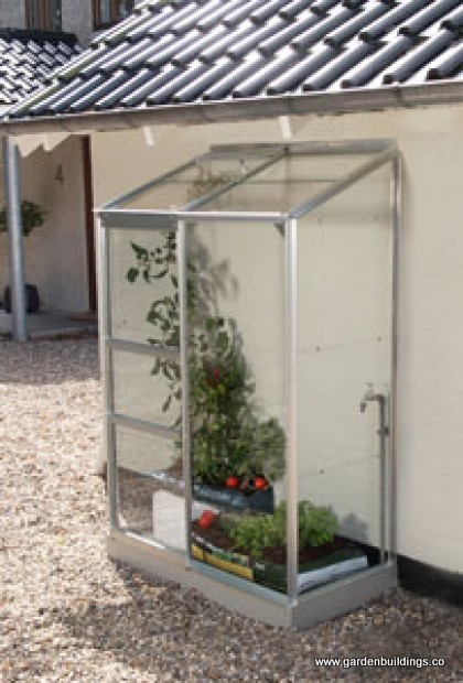 Seinaäärne kasvuhoone Vitavia Ida 900 - 0,69m x 1,32m =0,9 m²