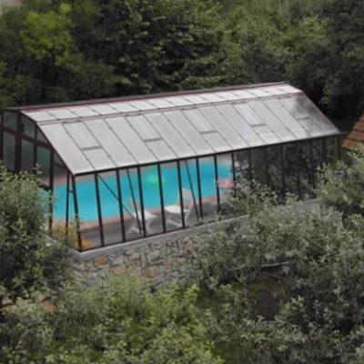 Kasvuhoone Limes Primus M-6 - 4,26m x 6,01m=25,6 m²