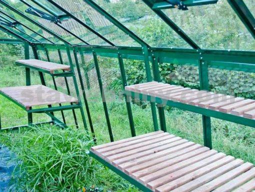 Kasvuhoone Limes Primus J-4,5 - 2,49m x 4,55m=11,33 m²